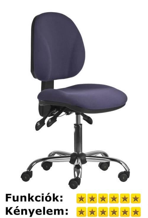 Laborszék 1043 Asyn Ergo antisztatikus szék